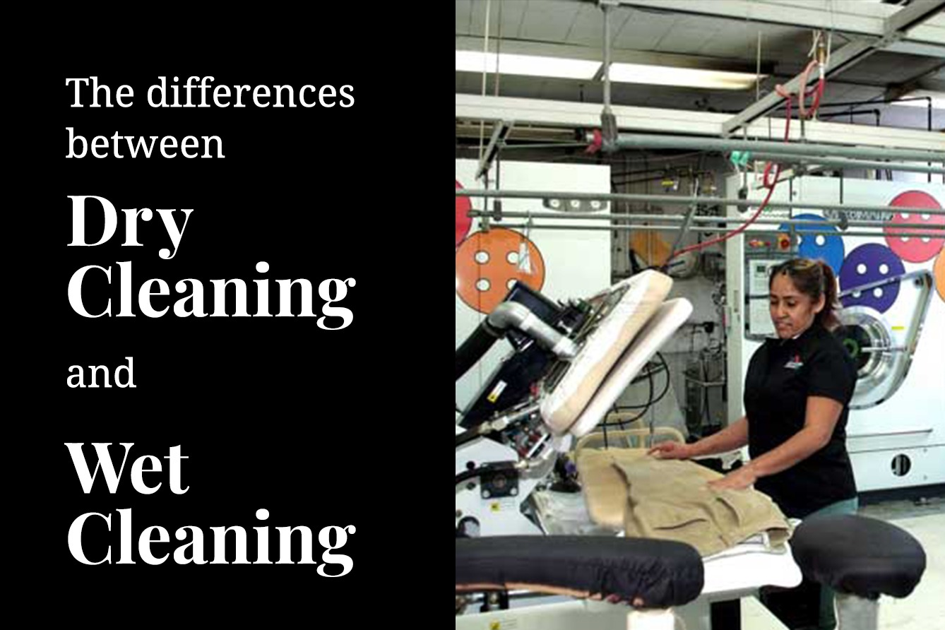 Dry cleaning vs Wet Cleaning