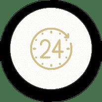 24 hour kiosk icon