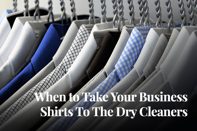 Why You Should Take Your Business Shirts To The Dry Cleaners Dependable Cleaners