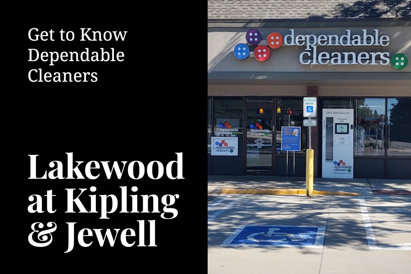 Dependable Cleaners Storefront in Lakewood