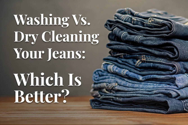 pile of folded denim jeans