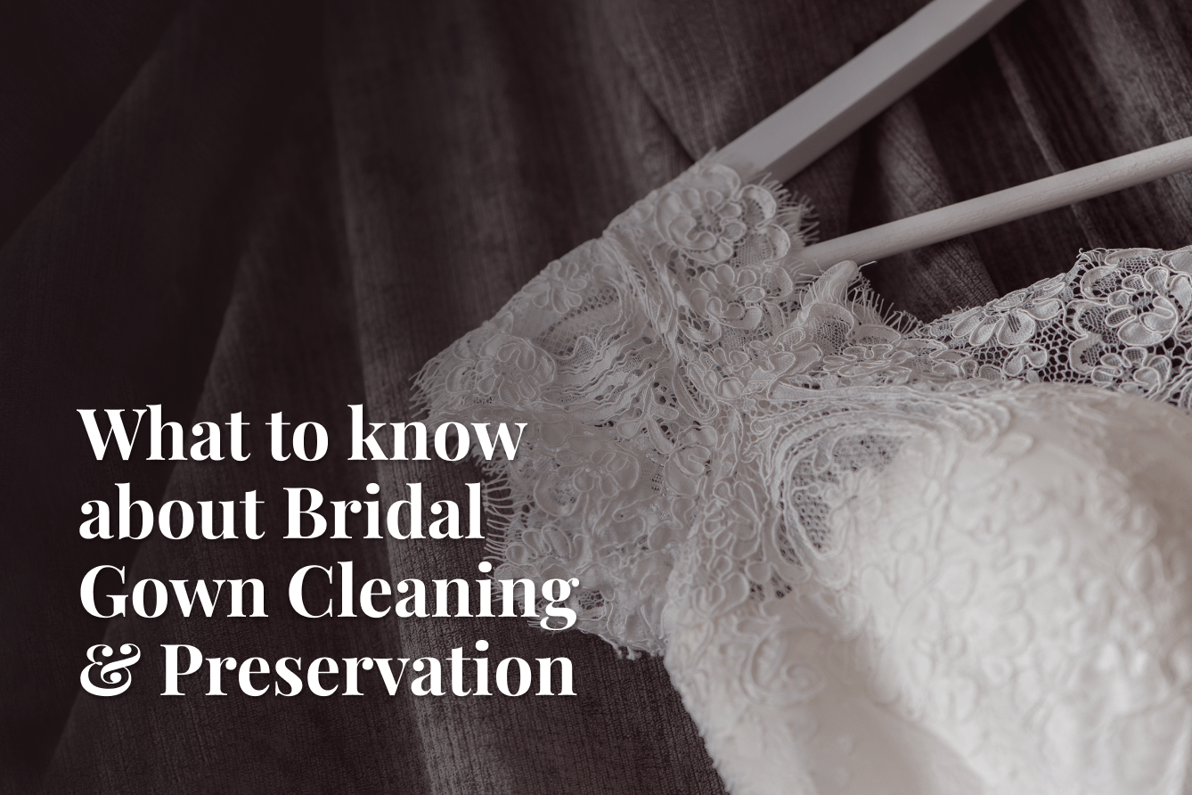 Bridal gown cleaning FAQs