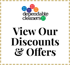 Dependable Cleaners Offers and Discounts Coupon Offer