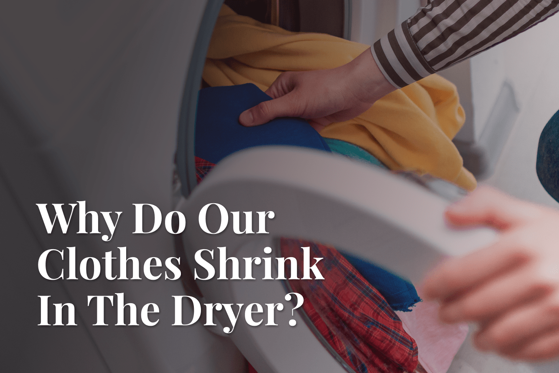 dryer shrinks clothes