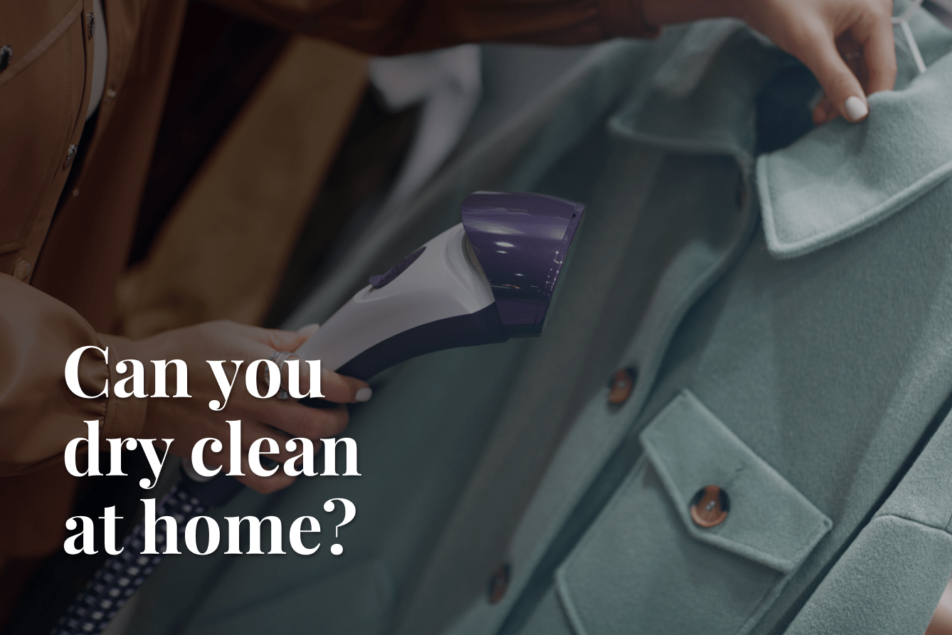 drying cleaning at home